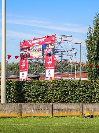Foto ingang dorpstoernooi
